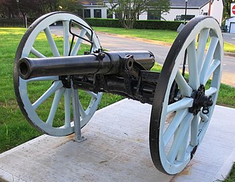 Royal Regiment of Canadian Artillery - A 12-pounder gun at the Royal Artillery Park, Halifax, Nova Scotia