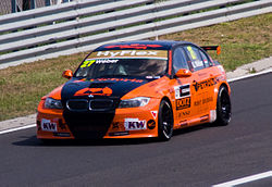 BMW 320 TC Gábor Wéber 2012 Race of Hungary.jpg