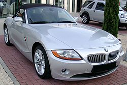 BMW Z4 rear wheel drive Car