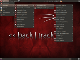 Screenshot BackTrack 5 R1