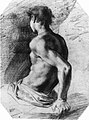Back View of a Seated Nude Youth Facing Left MET 10971.jpg