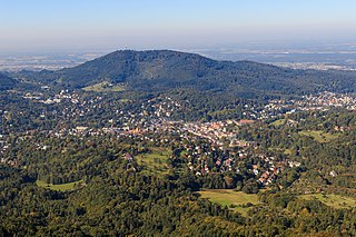 Fremersberg mountain