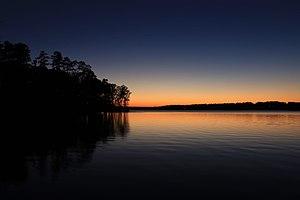 Badin Lake - Image: Badin Lake, Fall 2014