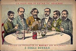 Bartolomé Mitre - Image: Bagley ad politicians