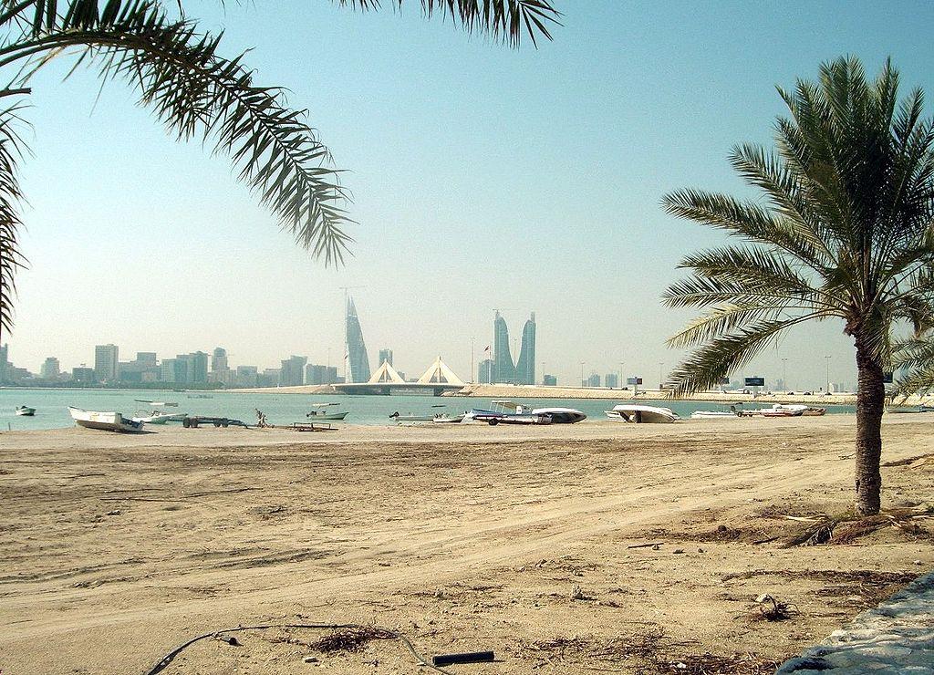 Sebuah pantai di Muharraq