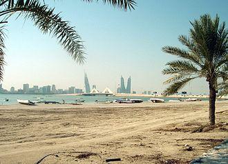 Bahrain - A beach in Muharraq