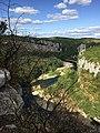 Balade du Bois de Païolive, les gorges du Chassezac vus d'en haut.jpg