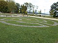 Balaton shore park in Keszthely, 2016 Hungary.jpg