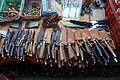 Bali market, knives.JPG