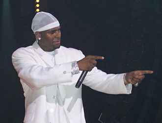Aaliyah - Aaliyah was introduced to R. Kelly (pictured), who became her mentor, as well as lead songwriter and producer on her debut album.