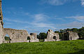 Ballybeg Priory St. Thomas Cloister East Wall 2012 09 08.jpg