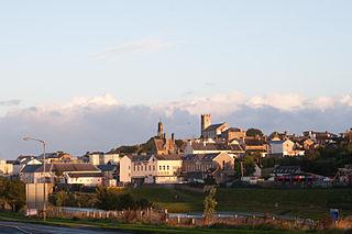Ballyshannon Town in Ireland