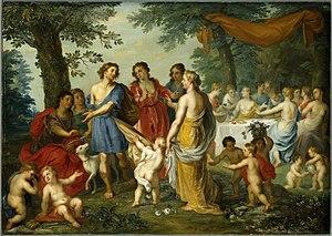 Balthasar Beschey - Venus and Adonis