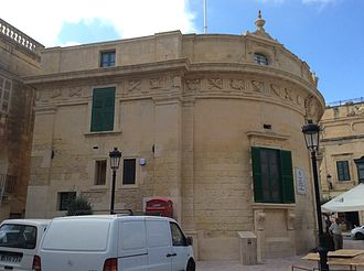 Banca Giuratale (Victoria, Gozo) - The Banca Giuratale as viewed from the south