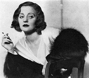 Dark Victory (play) - Tallulah Bankhead as Judith Traherne in the original Broadway production of Dark Victory (1934)