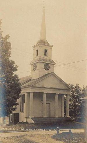 New Ipswich, New Hampshire - Baptist Church c. 1912