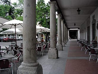 Casco Histórico de Barajas - Image: Barajas Plaza major 01