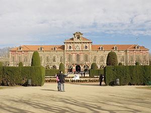 Palau del Parlament de Catalunya - West façade of the palace