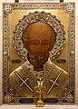 Bari, san nicola, interno, cripta, icona di san nicola, 2009.jpg