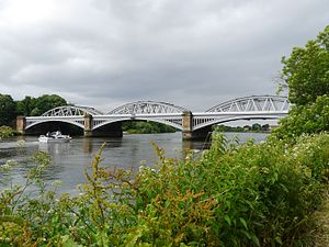 Barnes Railway Bridge - Image: Barnes Railway Bridge, London 03