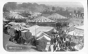 Barnet Fair - The funfair