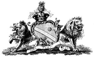 Baron Petre - Arms of the Barons Petre.