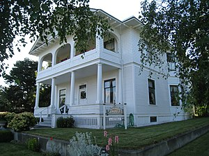 1888 in the United States - Barthrop House in Port Townsend, Washington, built in 1888
