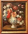 Bartolomeo bimbi (bottega), vasi di fiori, 1690 circa (s. giovanni di dio, fi) 02.jpg
