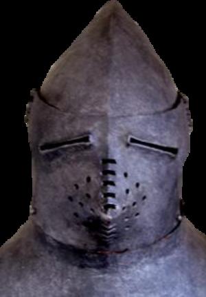 Hounskull - A hounskull helmet, 14th century