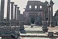 Basilica Complex, Qanawat (قنوات), Syria - East part- view through atrium to southern façade - PHBZ024 2016 1229 - Dumbarton Oaks.jpg