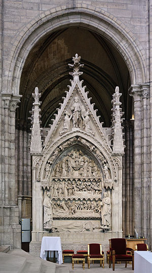 Dagobert I - Image: Basilique Saint Denis Dagobert tombeau