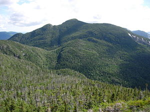 Basin Mountain (New York) - Basin as seen from Haystack