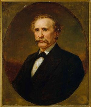 William B. Bate - Portrait of Governor Bate by George Drury