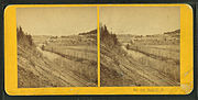 Bath, N.H, from Robert N. Dennis collection of stereoscopic views