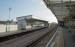 Battersea Park railway station - Image: Battersea Park railway station MMB 34