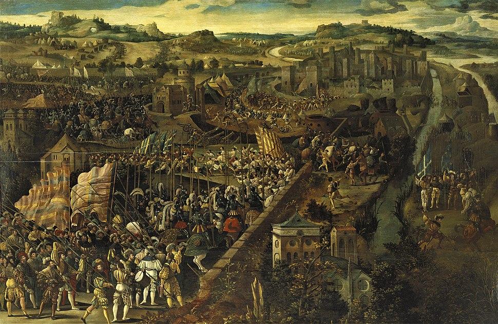 Battle of Pavia - Unknown Artist - Google Cultural Institute