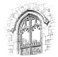 Battlemented transom (An Old English Home and Its Dependencies).jpg