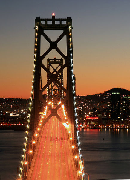 File:Bay Bridge at night.jpg