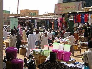 Omdurman Place in Khartoum State, Sudan