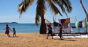 Beach in Nosy Komba, Madagascar