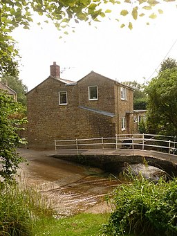 Beaminster, ford and cottage, Woodswater Lane - geograph.org.uk - 1383395