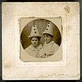 Beatrice Kerr wearing a clown hat (8021984911).jpg