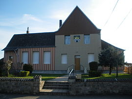 The town hall of Beaulencourt