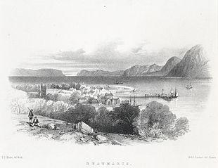 Beaumaris, from Barrow Hill Grounds