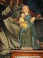 Beaumont-sur-Sarthe (Sarthe) église, petite statue Vierge à l'Enfant.jpg