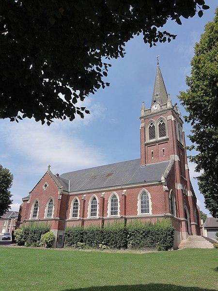 Beaurevoir (Aisne) église
