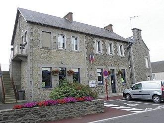 Beauvoir, Manche - The town hall