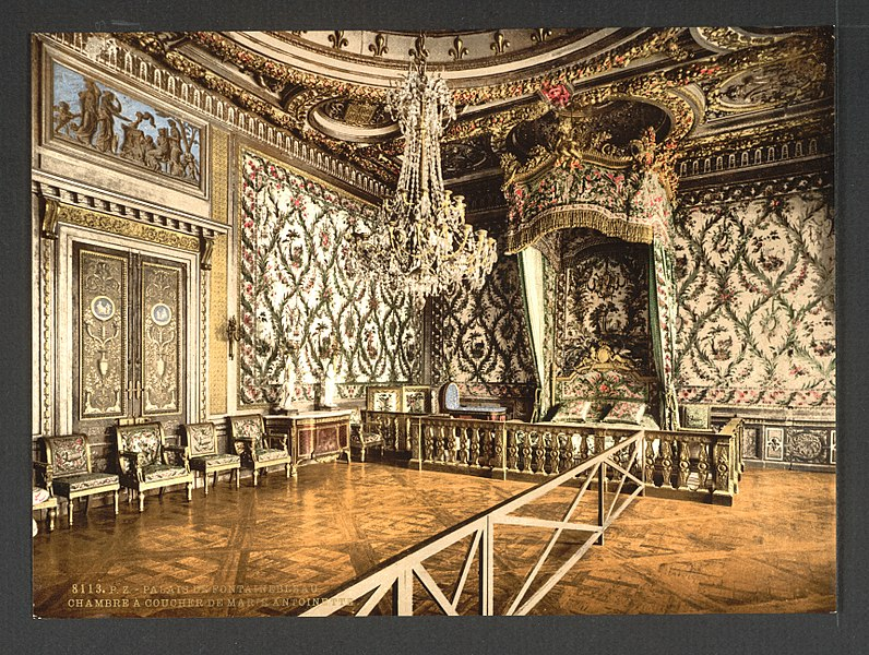 File:Bedroom of Marie Antoinette, Fontainebleau Palace, France-LCCN2001698130.jpg