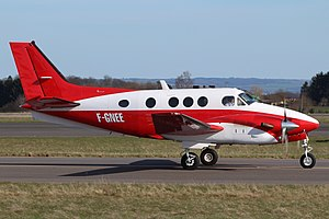 Beech C90B King Air Private F-GNEE, LUX Luxembourg (Findel), Luxembourg PP1365967615.jpg