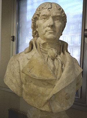 Louis-François Beffara - Buste of Beffara at musée de la Police de Paris.